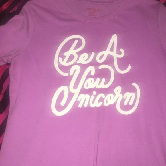 All Purple.Be A UNICORN shirt